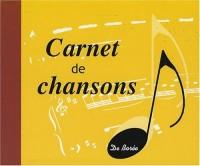 Carnet de Chansons