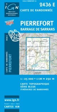 Pierrefort / Barrage De Sarrans GPS: Ign2436e