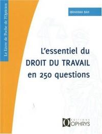 Essentiel du Droit du Travail en 250 questions