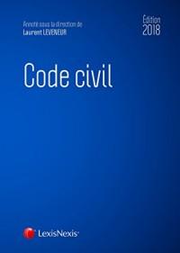 Code civil 2018. Accompagné du livret comparatif
