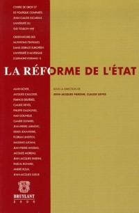 La réforme de l'Etat : Actes du Colloque international de Toulon ( 1er et  2 octobre 2004)