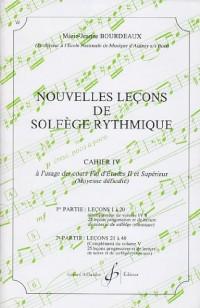Nouvelles Lecons de Solfege Rythmique Volume 4