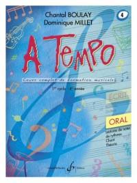 A Tempo - Partie Orale - Volume 4