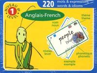 Cartes de vocabulaire Anglais-Français Niveau 1 (6ème)