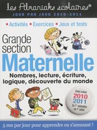 Maternelle GS 2010-2011