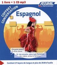 Coffret conversation Espagnol (guide + 1 CD)