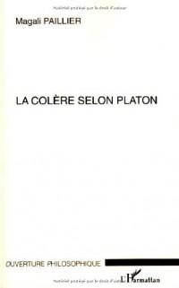La colère selon Platon