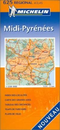 Atlas routiers : Midi-Pyrénées, N°20625