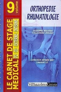 Orthopédie-Rhumatologie