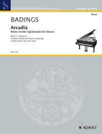 SCHOTT BADINGS HENK HERMAN - ARCADIA BAND 4 - PIANO Partition classique Piano - instrument à clavier Piano