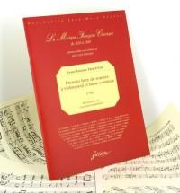 Premier livre de sonates à violon seul avec la basse continue
