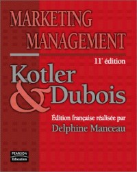 Marketing management, 11e édition
