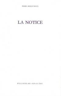 La notice