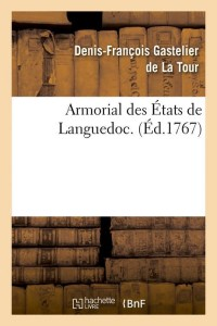 Armorial des Etats de Languedoc  ed 1767