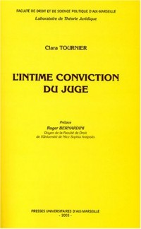 L'intime conviction du juge