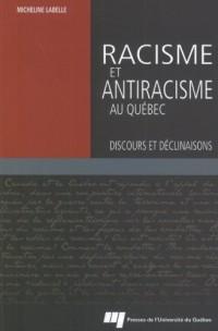 Racisme et Antiracisme au Quebec
