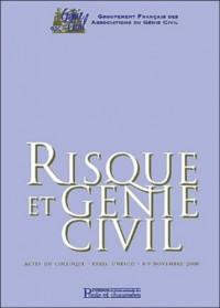 Risque et génie civil actes colloque novembre 2000