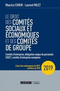Le Droit des Comites Sociaux et Economique et des Comites de Groupe - 14eme ed