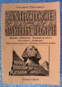 Anthologie des mystères d'Égypte
