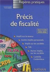 Précis de fiscalité, 2003