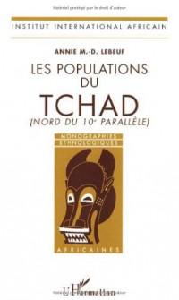 Les populations du Tchad (Nord du 10e parallèle)