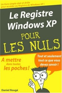 Le registre Widows XP