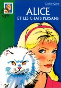 Alice et les chats persans