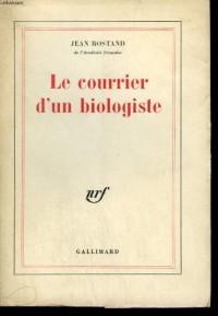 Le Courrier d'un biologiste