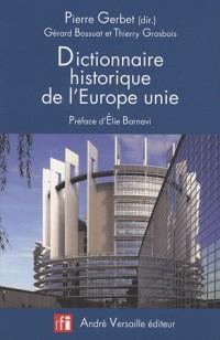 Dictionnaire historique de lEurope unie