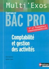 Comptabilité et gestion des activités : Bac Pro Comptabilité 1e et Tle professionnelles