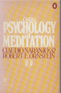 On the psychology of meditation (Esalen books)