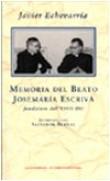Memoria del beato Josemaria Escriva fondatore dell'Opus Dei. Intervista con Salvador Bernal