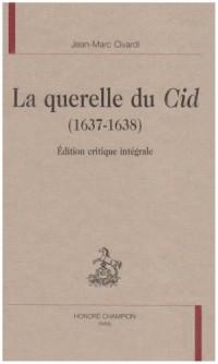 La querelle du Cid