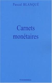 Carnets monétaires