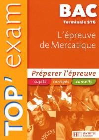 L'épreuve de Mercatique Te STG