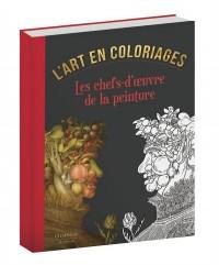 Les Chefs-d'Oeuvre de la Peinture Coloriage