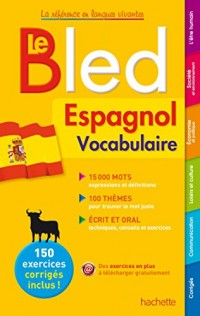 Bled Vocabulaire Espagnol