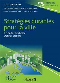 Strategies Durables pour la Ville