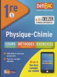 DéfiBac Physique/Chimie 1ère S + 3 mois offerts à Deezer Premium +