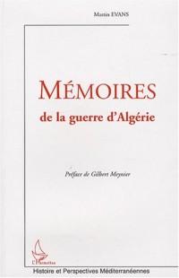 Mémoires de la guerre d'Algérie