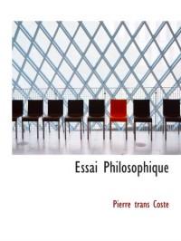 Essai Philosophique