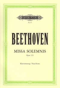 Missa solemnis D-Dur Opus 123