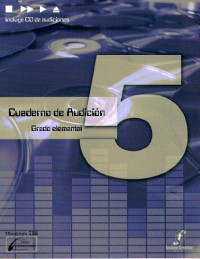 ENCLAVE - Cuaderno de Audicion 5º (Grado Elemental) (Inc.CD) (Lopez/Cañada/Molina)