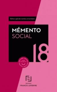 Memento social étudiant 2018
