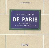 Les lieux-dits de Paris