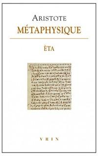 Metaphysique Eta