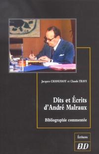 Dits et ecrits d'Andre Malraux