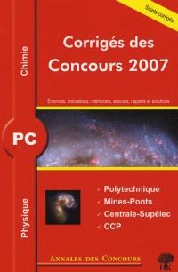 Physique et chimie PC