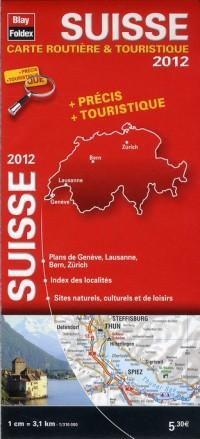 Carte Suisse 2012