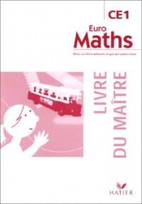 Euromaths CE1, livre du maitre